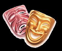 Персональный сайт - Стихи о театре